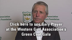 Gary Player at the Western Golf Associiation